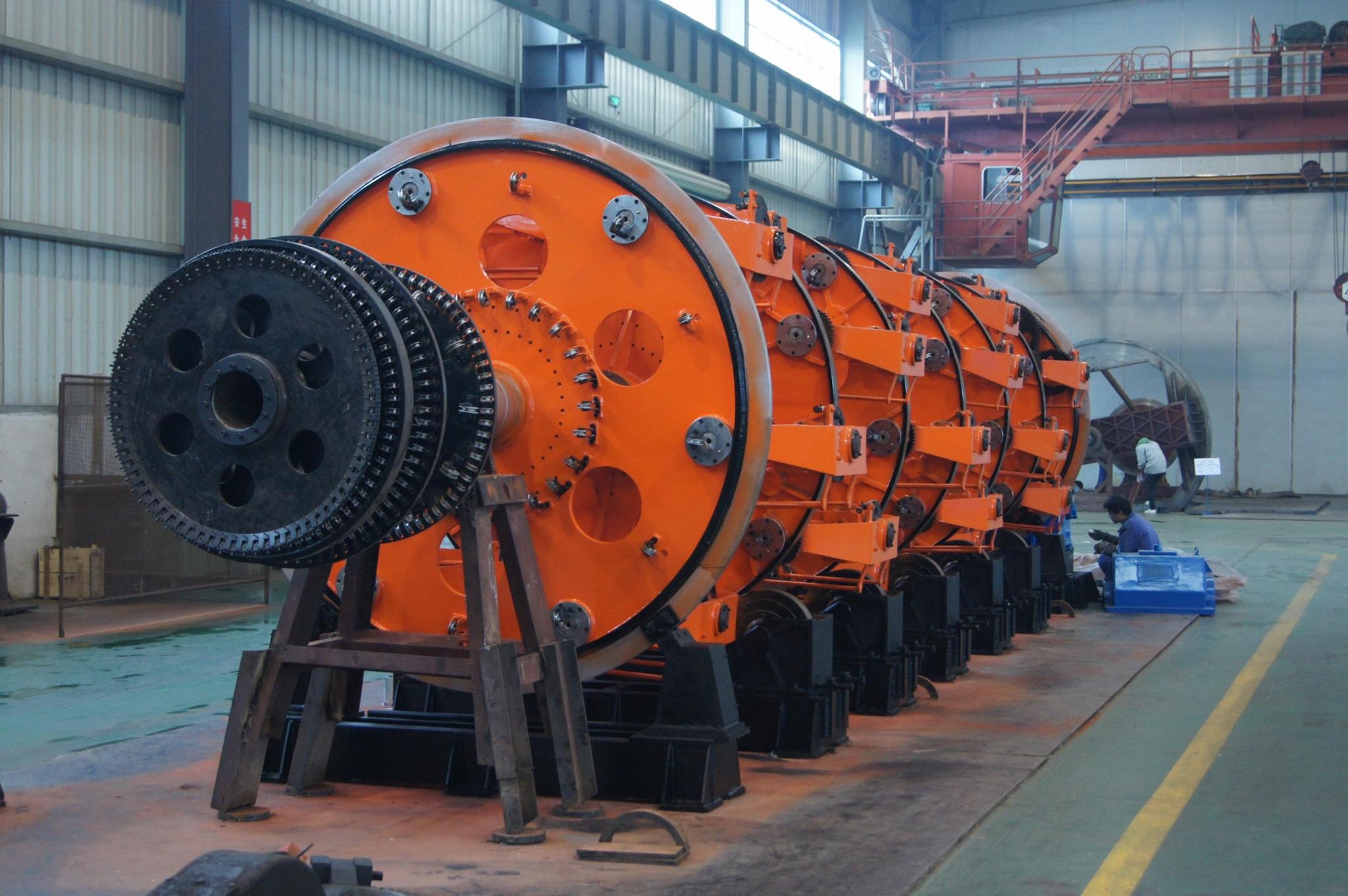 Steel Wire Armoring Machine 1
