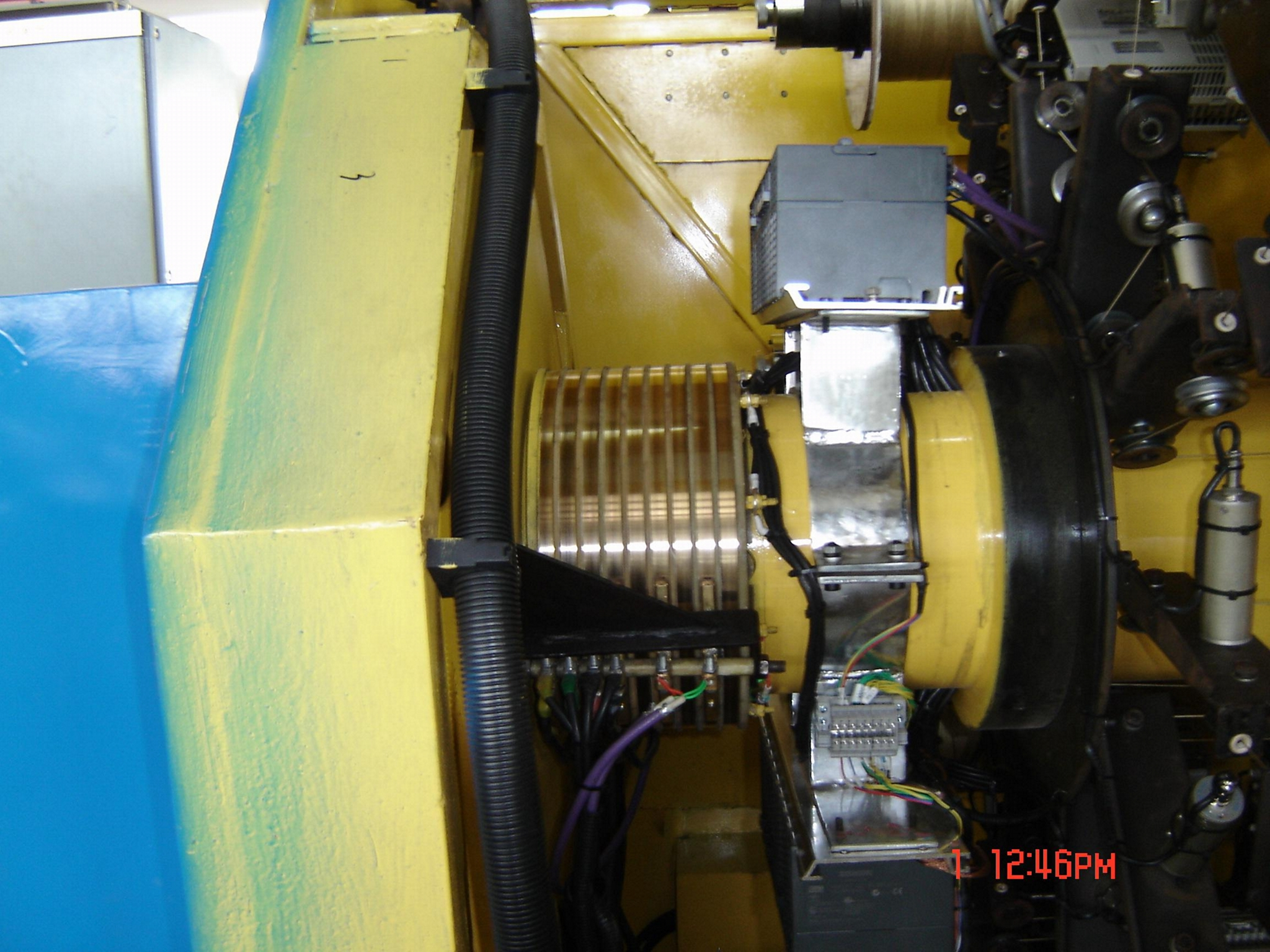 OPGW籠絞機 6