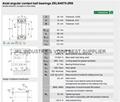 INA AXIAL ANGULAR CONTACT BALL BEARINGS ZKLN4075-2RS