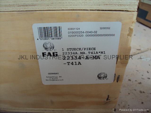 FAG   22334A.MA.T41A Angular contact ball bearings 1