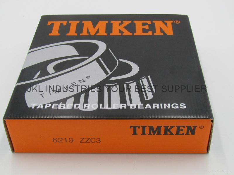 TIMKEN  6219 ZZ/C3  Deep Groove Ball Bearings 1