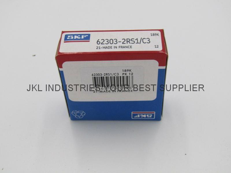 SKF   62303-2RS1/C3  Deep Groove Ball Bearings 1