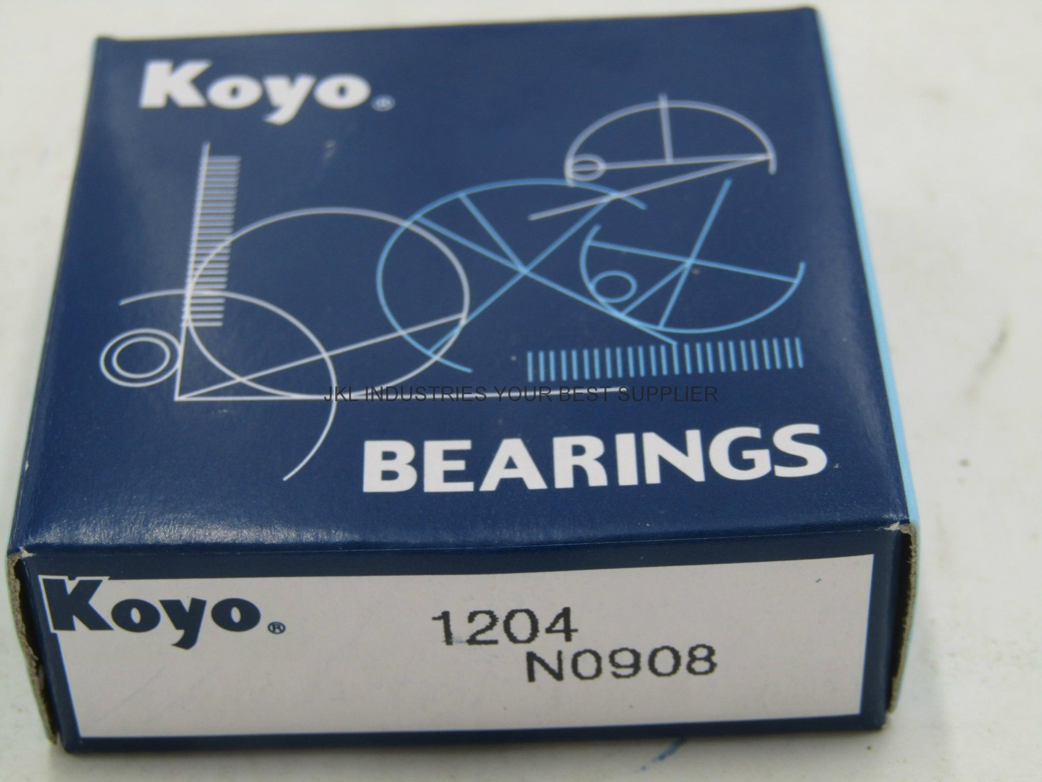 Self-aligning ball bearings   KOYO 1204