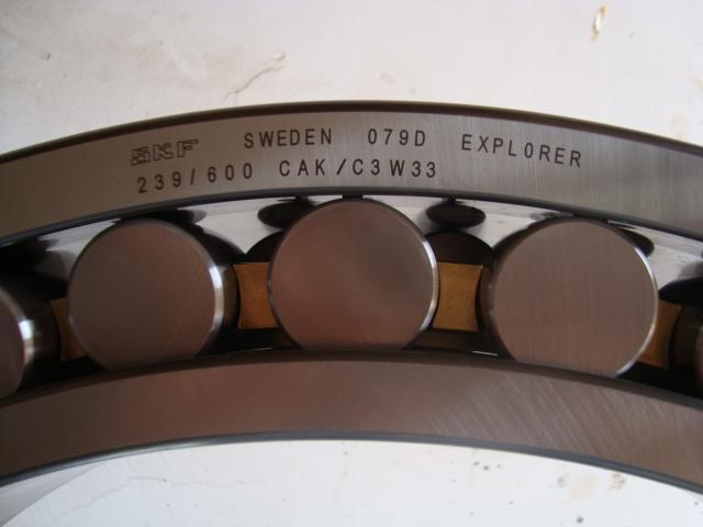 SKF   239600 CAK /C3W33  Spherical Roller Bearings