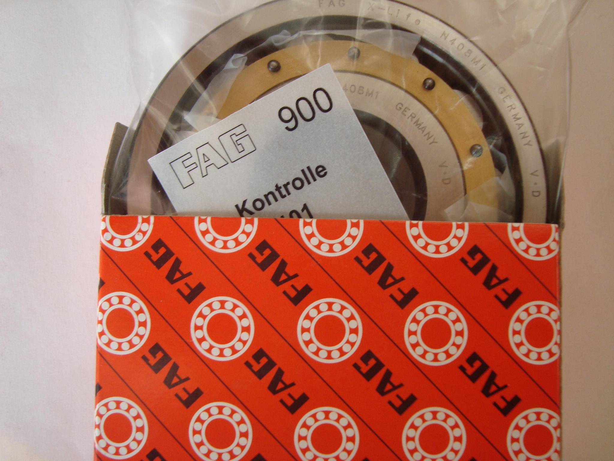 FAG   N408 M1  Cylindrical Roller Bearings 6