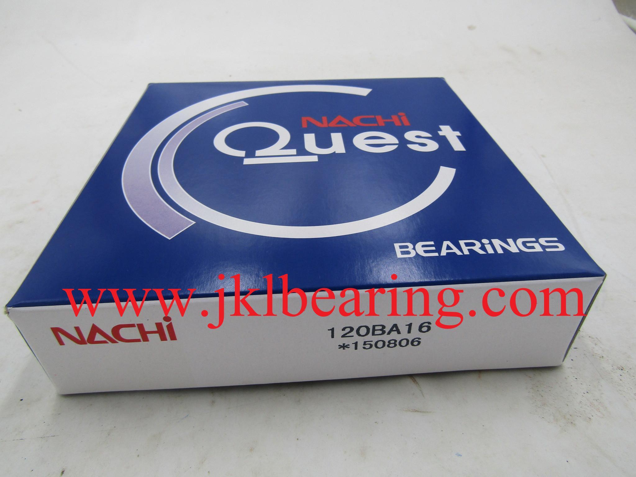 NACHI    BA12016 Angular Contact Ball Bearing 2