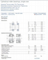SKF   NJ212ECP/C3    Cylindrical Roller Bearing
