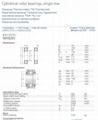 SKF  NU315EW.NRC3  Cylindrical Roller Bearings