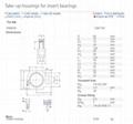SKF   TUJ506  Take-up housing for insert bearings