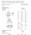 SKF   SNL3144     Split Plummer Block Bearing