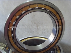 Cylindrical roller bearings, single row, NU design