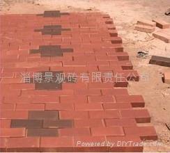 紅色園林燒結磚 1