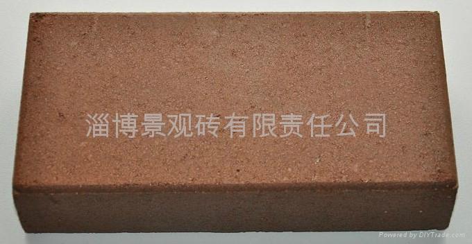 棕色咖啡色燒結磚 1