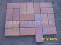 褐色棕色燒結磚景觀磚廣場磚 2