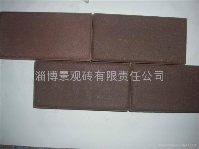 棕色咖啡色燒結磚 4