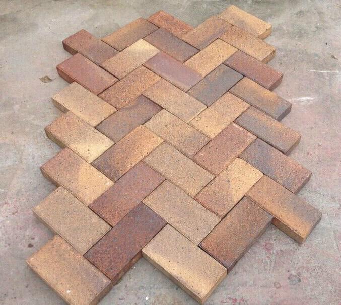 褐色棕色燒結磚景觀磚廣場磚 4