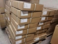 Packed motorcycle spare parts