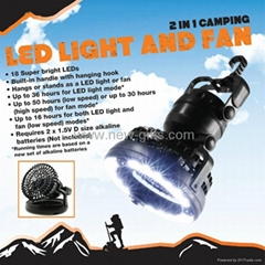 Multi - Direction Fan / LED Light
