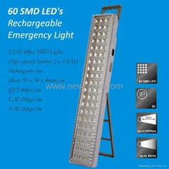 NEW SMD 60 LED's  Rechargeable Emergency Lamp