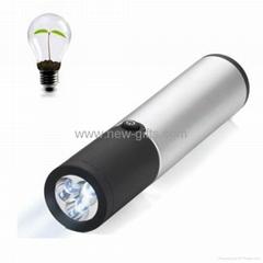 甩搖自發電手電筒 LED強光電筒