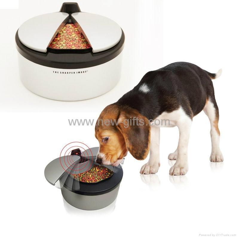 寵物自動喂食器 紅外感應喂食器 1