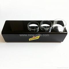 Customized Acrylic Wine Bottle Stand Holder Display