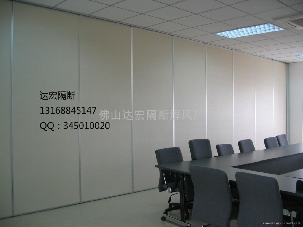 写字楼会议室折叠屏风 2