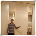 Guangdong Foshan Factory Direct Move Partition Hotel Movable Partition