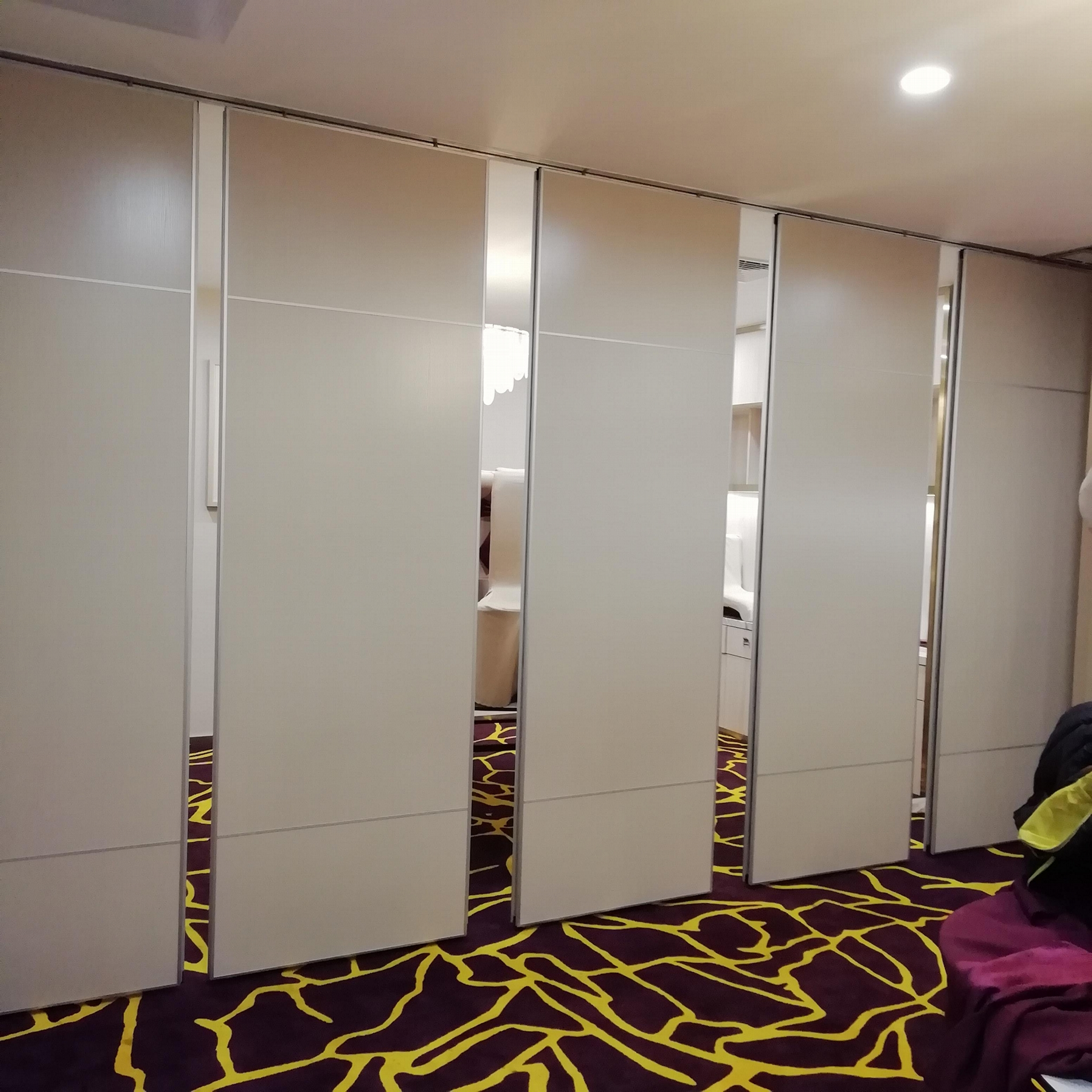 Guangdong Foshan Factory Direct Move Partition Hotel Movable Partition 6