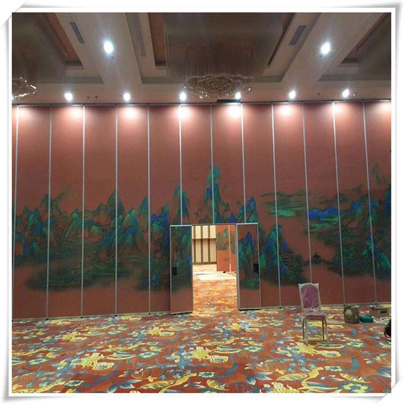 Guangdong Foshan Factory Direct Move Partition Hotel Movable Partition 10