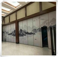 Guangdong Foshan Factory Direct Move Partition Hotel Movable Partition 11