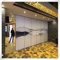 Guangdong Foshan Factory Direct Move Partition Hotel Movable Partition 12