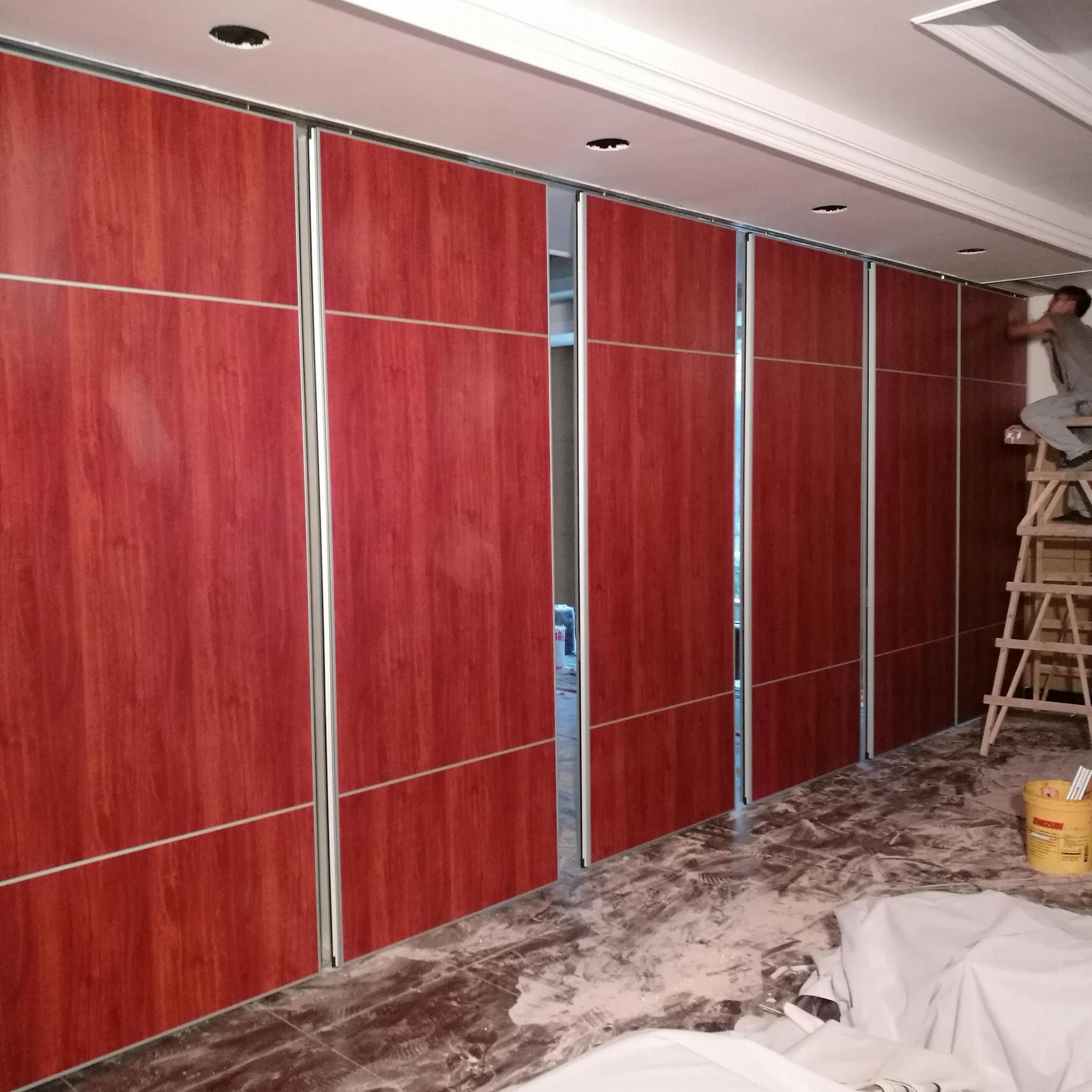 多用途大厅和会议室用隔音高隔墙 2