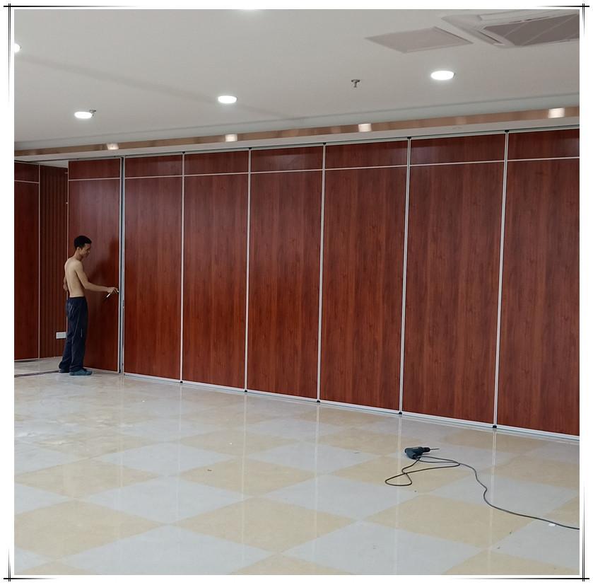厂家直销会议室隔音移动隔断-STC43db 8