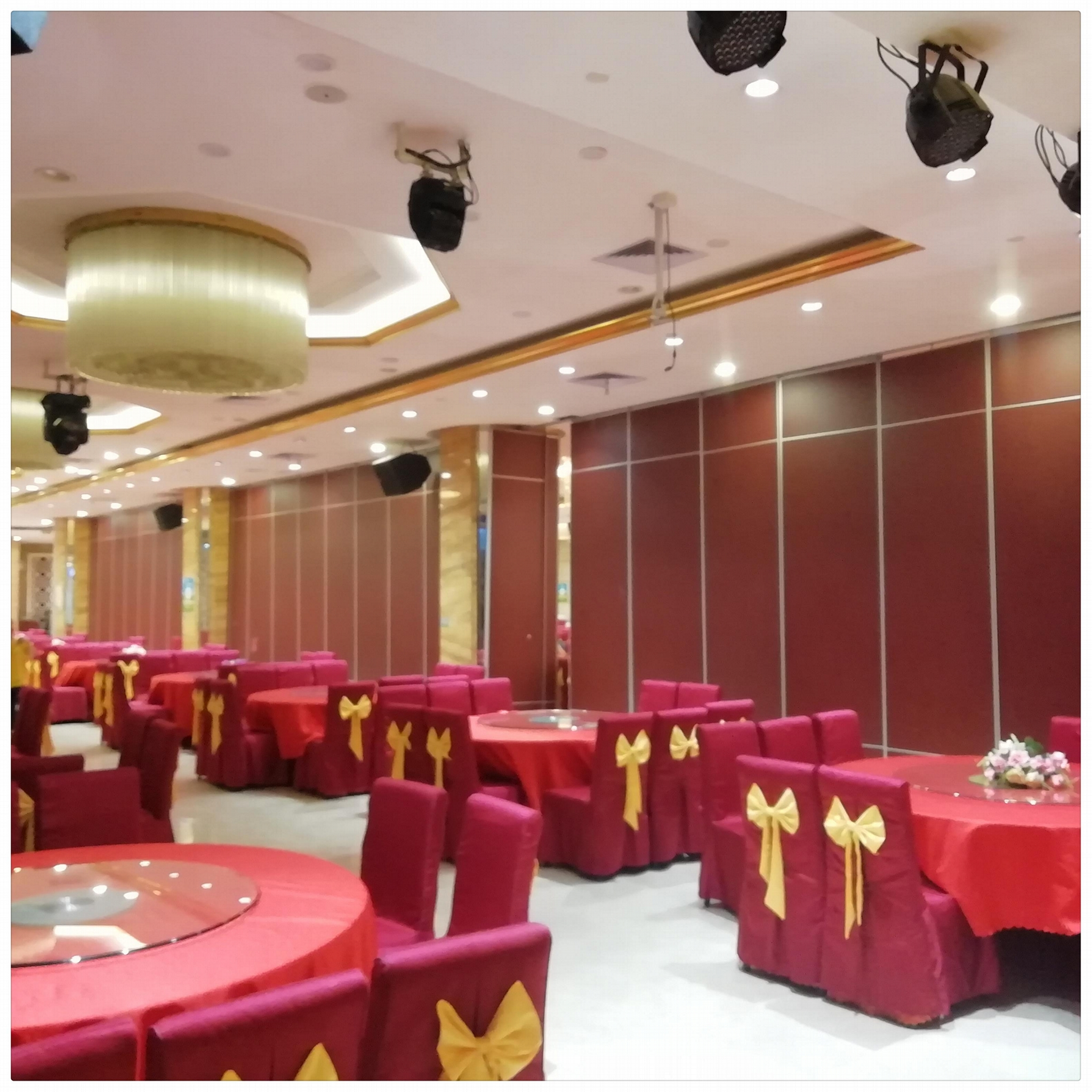Factory Direct Sales Hotel Movable partition