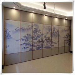 Hotel movable partition made in Guangdong, China