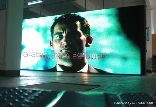 LED digital curtain wall display screen