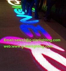 led Video dance floor/led display dance floor/flash dance  floor