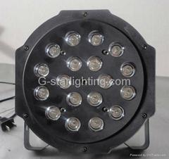 led par can/led stage lights/18*1w mini par 64LED