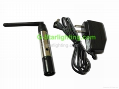 XLR wireless DMX512 Receiver & Transmitter for stage light