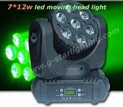 7*12W led moving head light( Claypaky K5)
