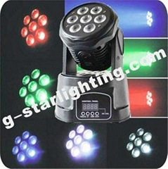 7x10w  mini led moving head light/moving head light