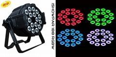 4in1 RGBW 18*10w led par can/LED par light/ stage lighting/effect lights