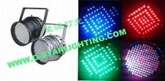 Dmx par can /led uplight/ stage lighting/led par 64