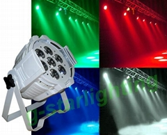 7X15w OSRAM LED par can/LED par light/stage lighting