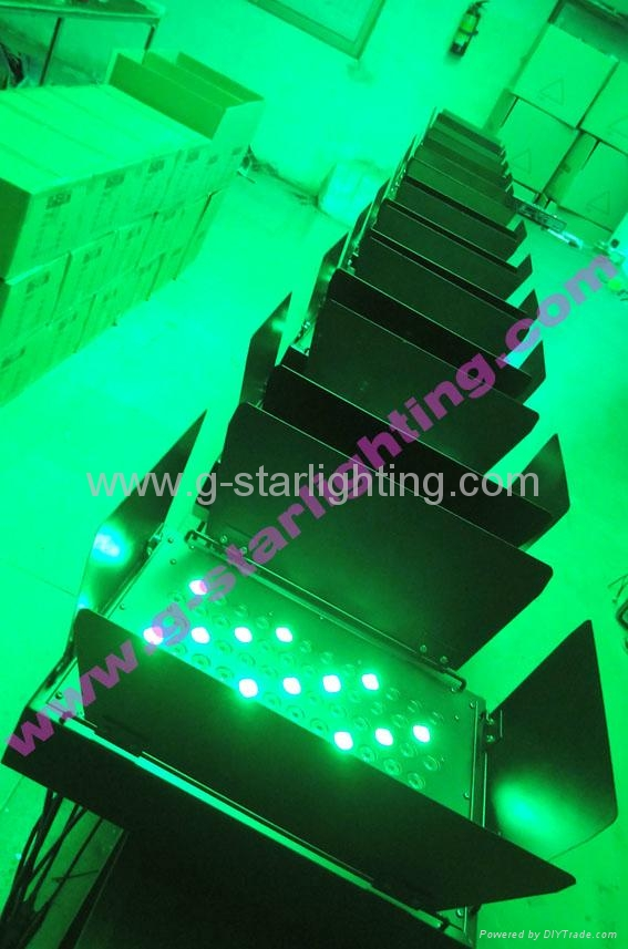 72 LED wall washer/led par can/led stage light/ led uplight 5