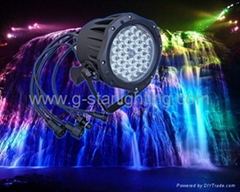 Outdoor par can/led par lights/garden ligths/outdoor lights