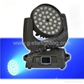 18w 6in1 Zoom 36 Led moving head lights/ led washer lights/stage light