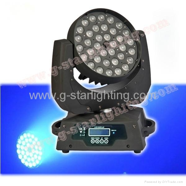 18w 6in1 Zoom 36 Led moving head lights/ led washer lights/stage light 10