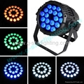 Outdoor 5 in 1 18X12W leds par can/led